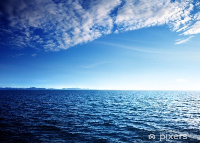 Naklejka Pixerstick Morze Karaibskie i perfect sky - Woda