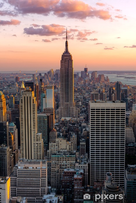New York Empire state building Vinyl Wall Mural -