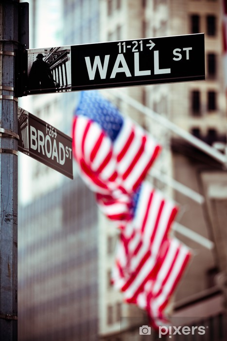 Fototapeta winylowa Wall Street, Nowy Jork - Miasta amerykańskie