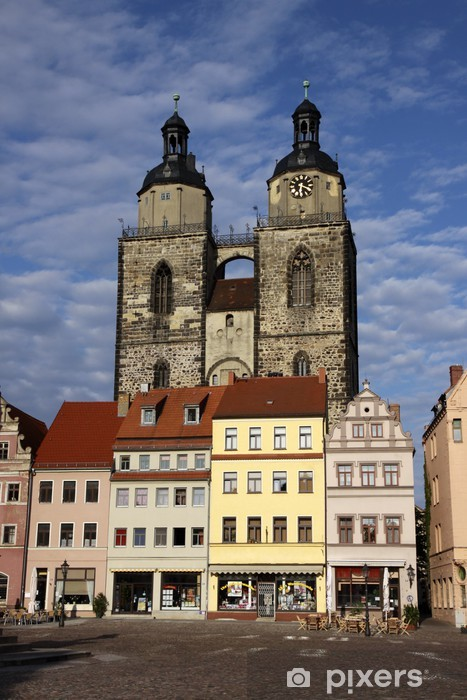 Carta da Parati in Vinile Stadtkirche Wittenberg - Europa