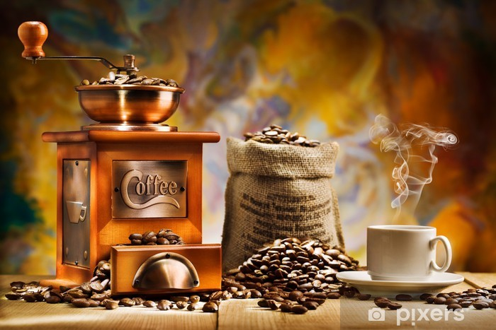 coffee for still life Vinyl Wall Mural - Themes