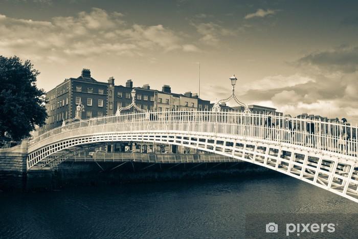Fotomural Autoadhesivo El puente de Penny mitad - Europa