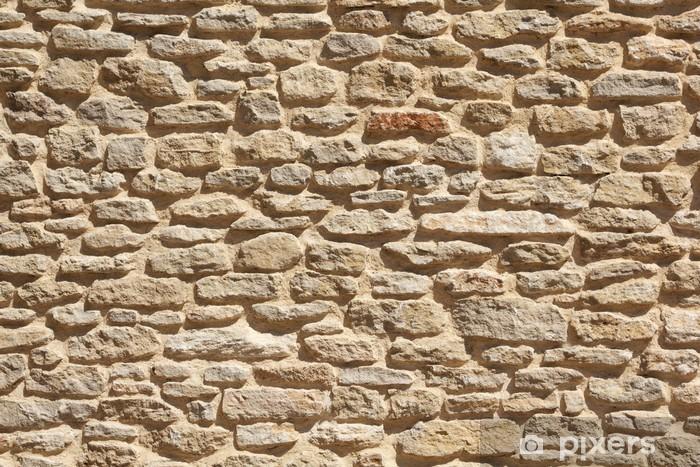 Fotomural Estándar Antiguo muro de piedra de fondo - Estilos