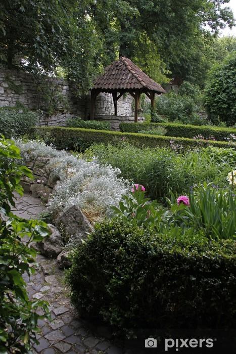 Naklejka Pixerstick Bad Naturgarten Langensalza - Budynki użyteczności publicznej