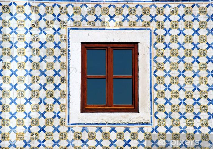 Nálepka Pixerstick Janela de Lisboa, Portugal - Město