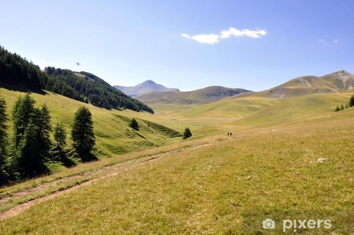 Nálepka Pixerstick Horská krajina - Evropa