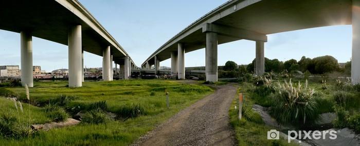 Nálepka Pixerstick Městská blaženost - Infrastruktura