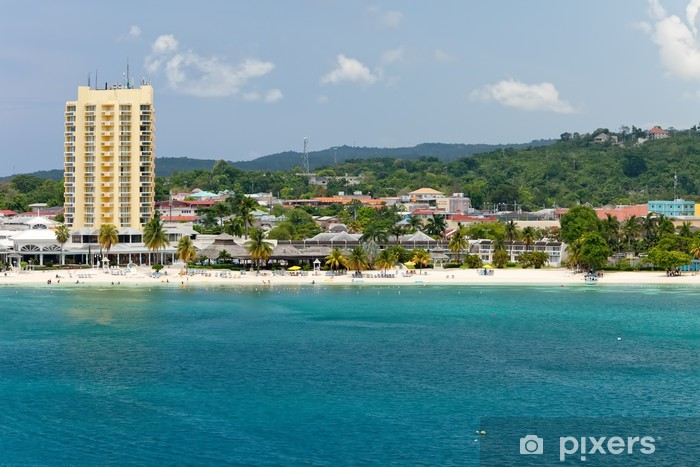Vinyl-Fototapete Urlaubsziel in Ocho Rios, Jamaika - Amerika
