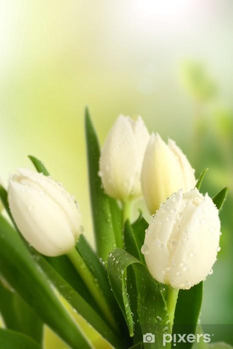 Sticker Pixerstick Odeur de tulipe - Thèmes
