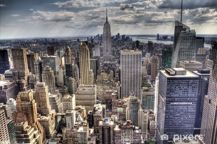 Sticker Pixerstick New yorkais -