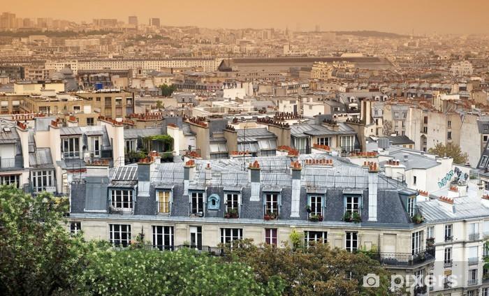 Papier Peint Toits De Paris Pixers Nous Vivons Pour Changer