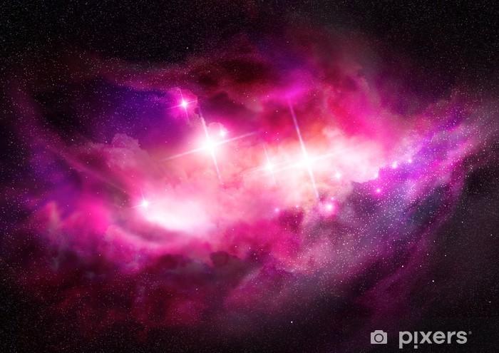 Pixerstick Aufkleber Space Nebula - interstellaren Wolke - Universum