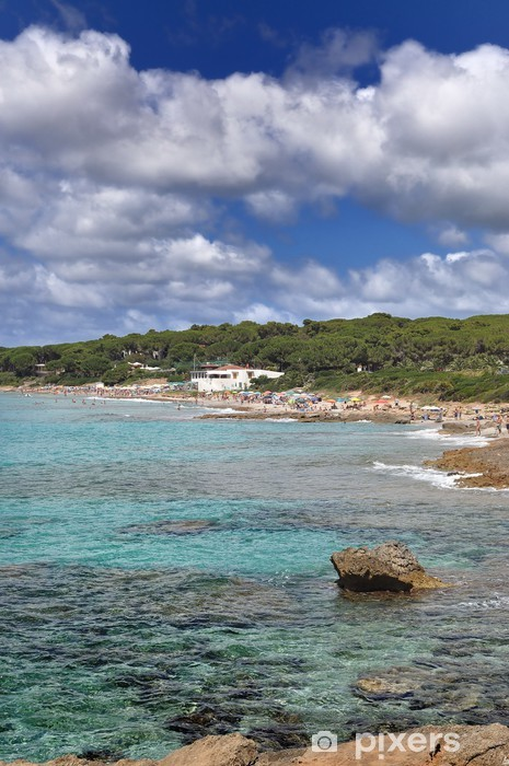 Fototapeta winylowa Sardynia: Alghero, plaża Bombarde - Europa