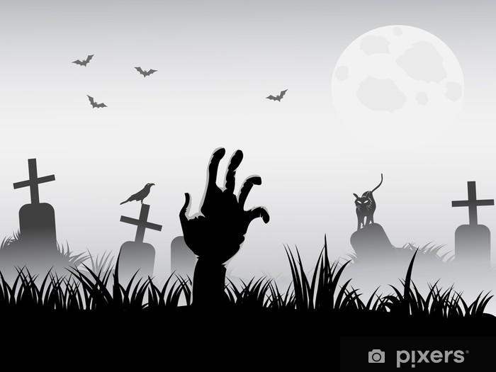 Fototapeta winylowa Zombie jawie - Tematy