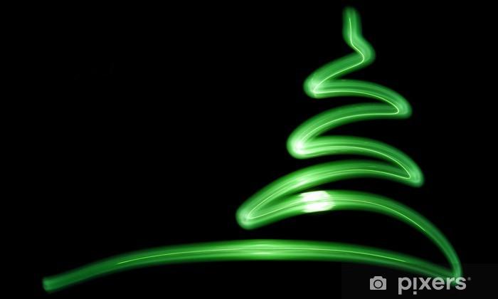 Sticker Pixerstick Lightpainting - sapin de Noel - Fêtes internationales