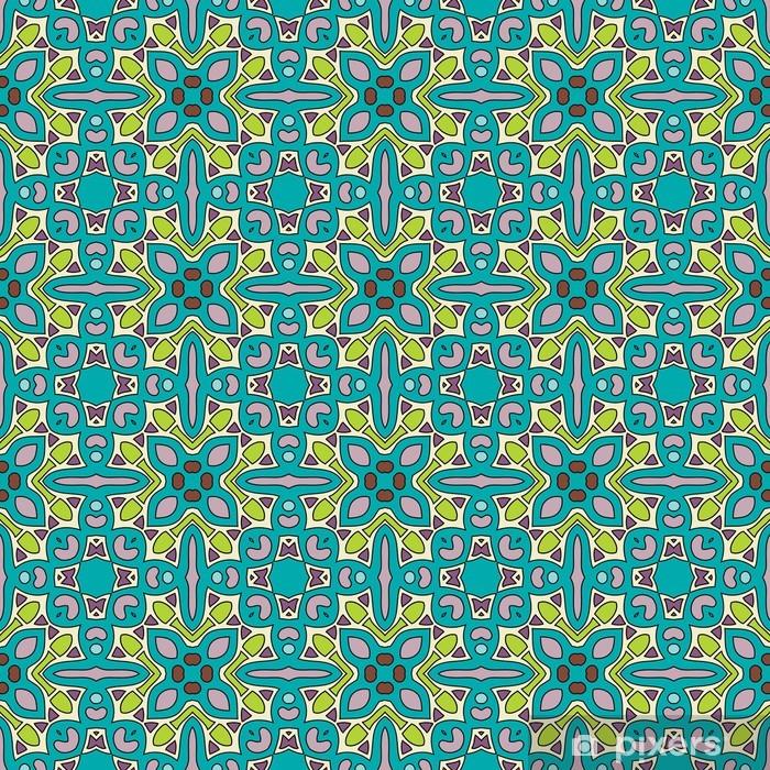 Plakat Bezproblemowa i elegancki barokowy wzór z kwiatów - Tła