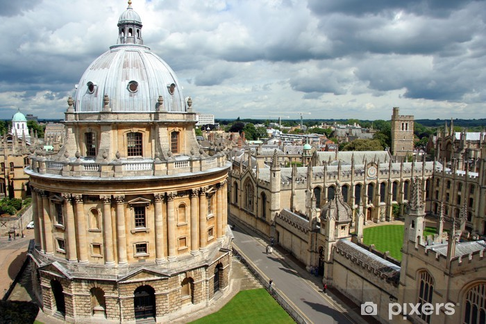Naklejka Pixerstick Radcliffe Camera i All Souls College - Edukacja