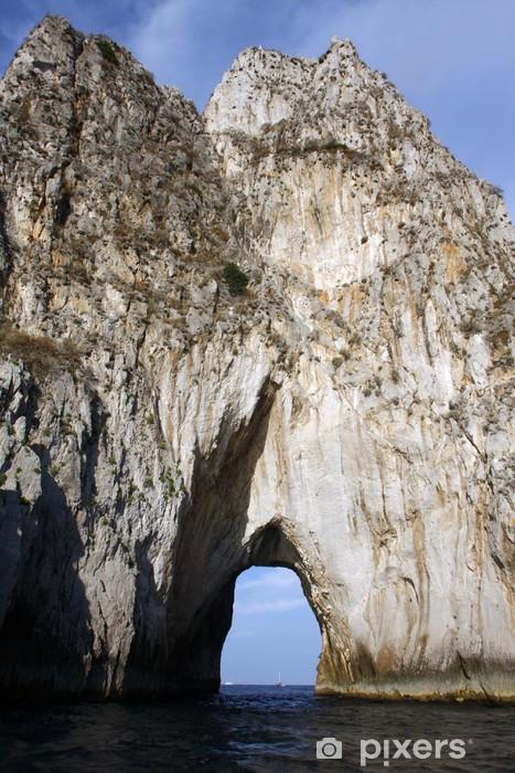 Vinyl Fotobehang Faraglioni van Capri - Vakantie