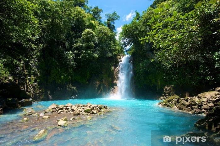 Tenorio Waterfall, Costa Rica Pixerstick Sticker - Themes