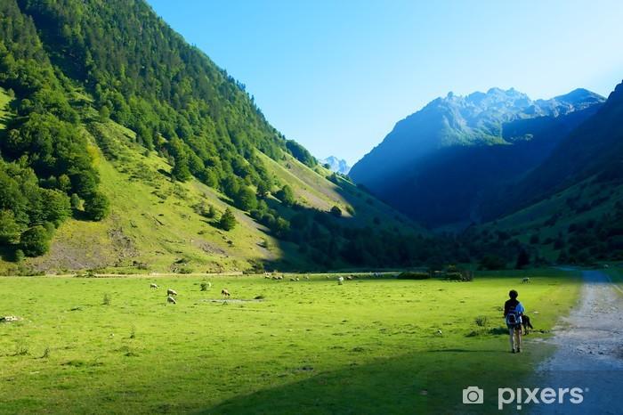 Naklejka Pixerstick Lac Bleu, Pireneje, Francja - Europa