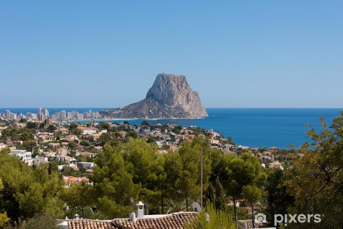Fototapeta winylowa Rock of Ifach. Calpe, Alicante - Wakacje