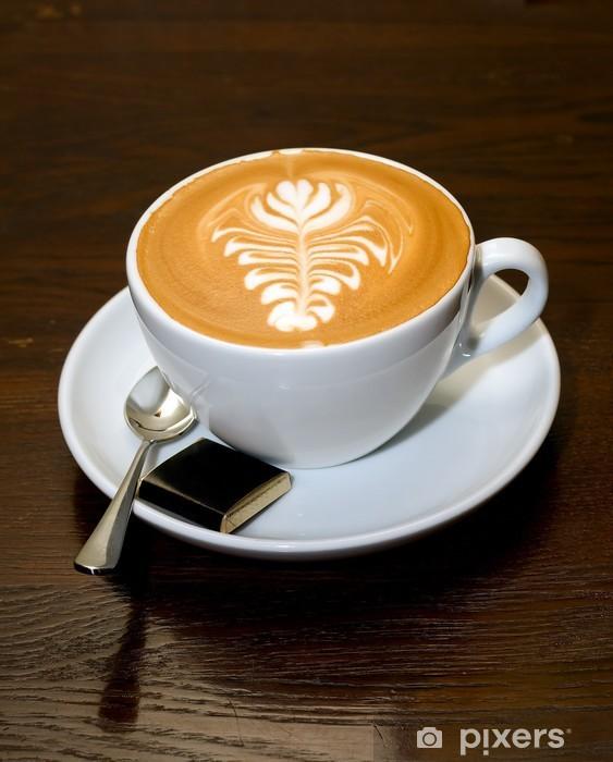 Naklejka Pixerstick Coffe na stole brązowy - Przeznaczenia