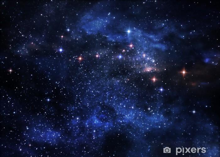 Deep space nebulae Pixerstick Sticker - Universe