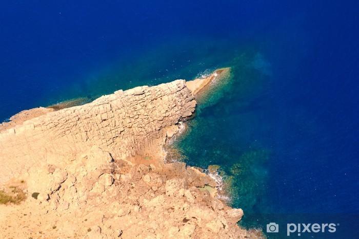 Fototapeta winylowa Formentor cape do Pollensa ptaka morza na Majorce - Wakacje