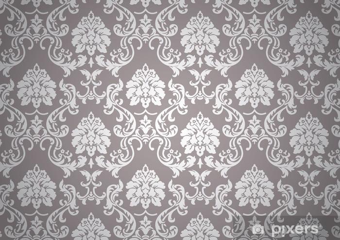 Sticker Pixerstick Papier-peint baroque -