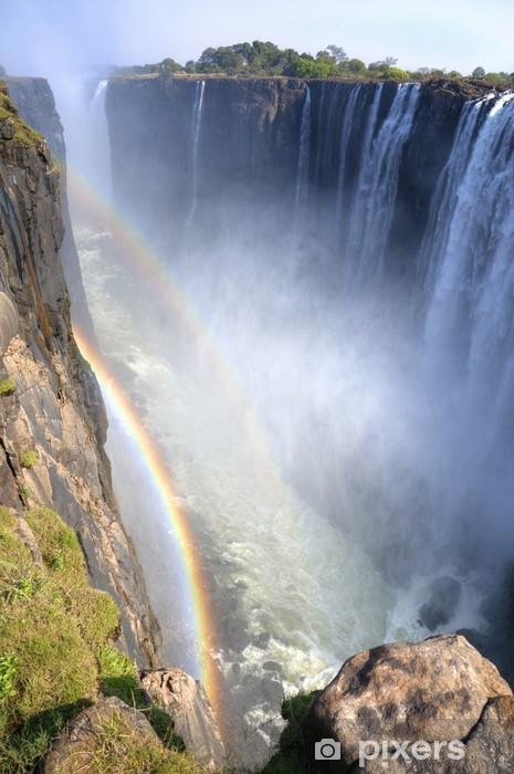 Victoria Falls Zimbabwe Africa Wall Mural Vinyl