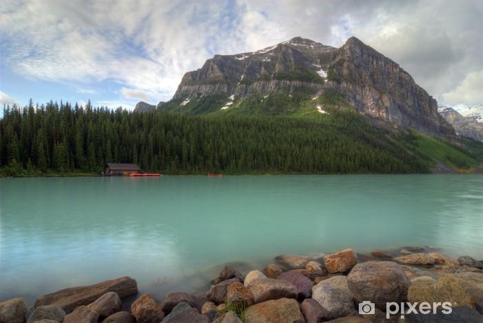 Fototapeta winylowa Lake Louise - Ameryka