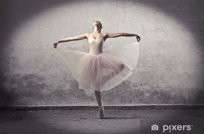 Naklejka Pixerstick Klasyczne baleriny - Tematy