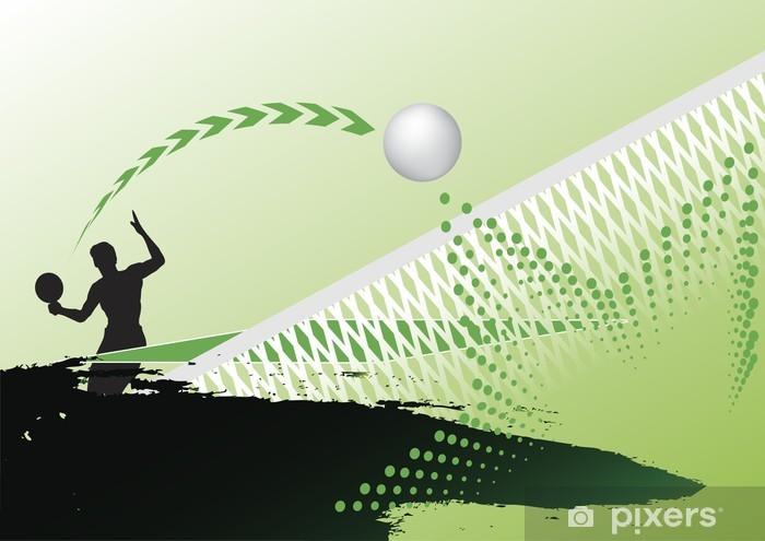 Table tennis Pixerstick Sticker - Tennis