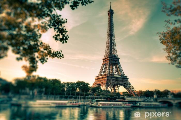 Fototapeta winylowa Tour Eiffel - Paryż - Francja - Tematy