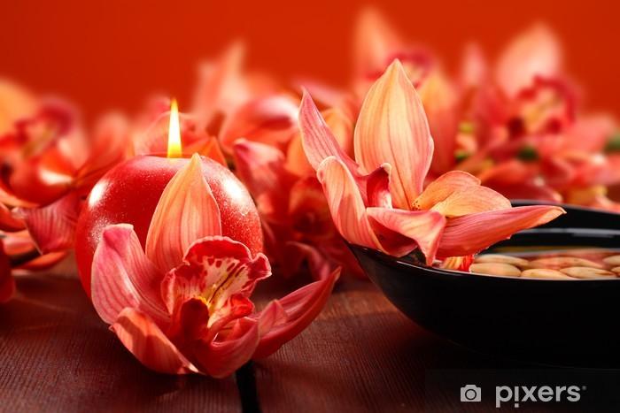 Orkidea koristelu Pixerstick tarra - Ekologia