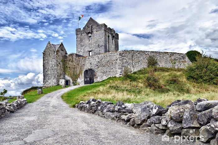 Vinil Duvar Resmi Dunguaire Castle, Kinvara, İrlanda - Avrupa
