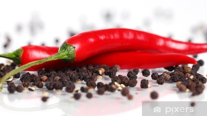 Fototapeta winylowa Czerwona papryka chili - Warzywa