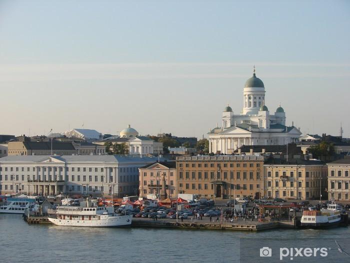 Vinylová fototapeta Port of Helsinki - Vinylová fototapeta