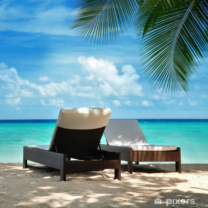 Carta da Parati in Vinile Vacanze alle Maldive
