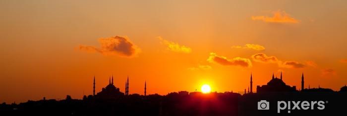 Vinylová fototapeta Západ slunce v Istanbulu 4 - Vinylová fototapeta