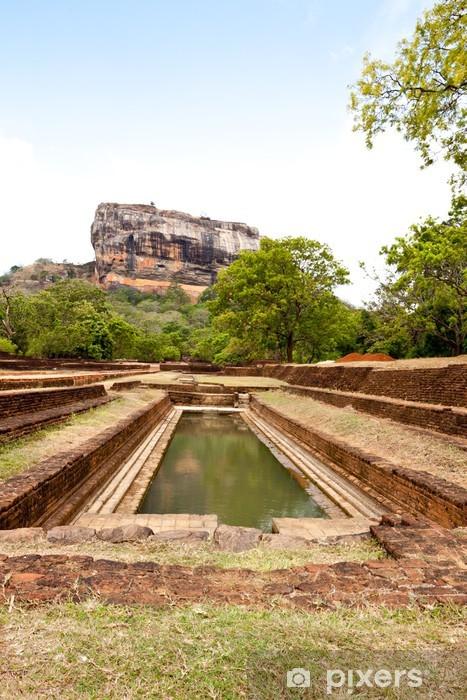 Fototapeta winylowa Słynna skała Sigiriya. Sri Lanka - Wakacje