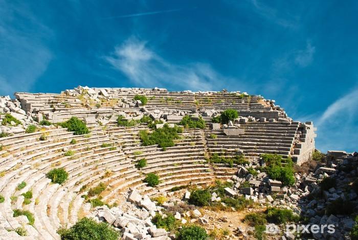 Vinyl-Fototapete Theater in Termessos - Naher Osten
