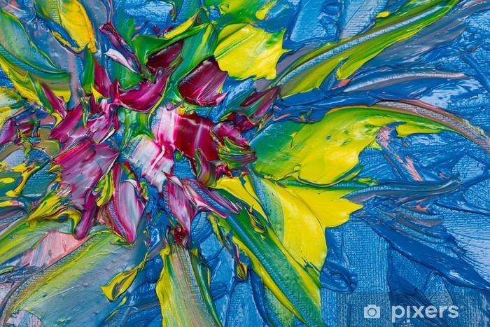 Naklejka Pixerstick Sztuka abstrakcyjna - Sztuka i twórczość