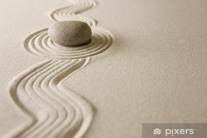 Carta da Parati in Vinile Zen garden - Religioni