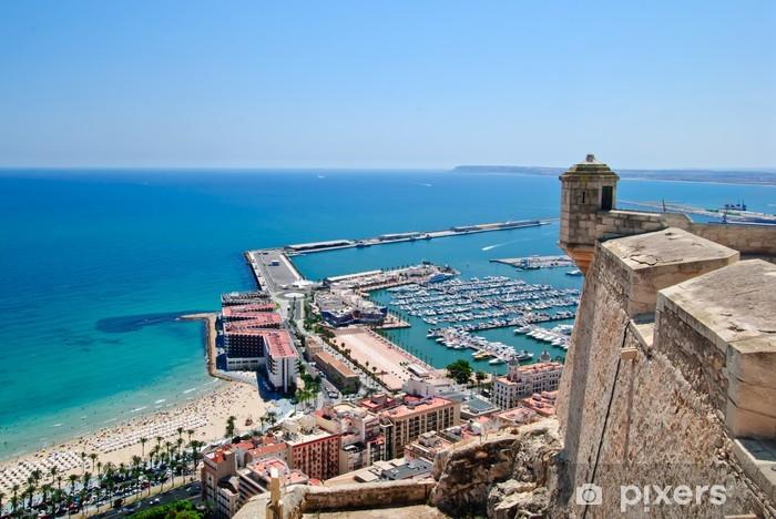 Fototapeta winylowa Alicante - Wakacje