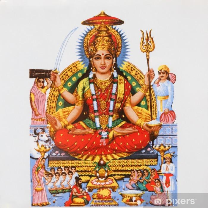 Fototapeta winylowa Parvati, hinduska bogini miłości i oddania - Azja