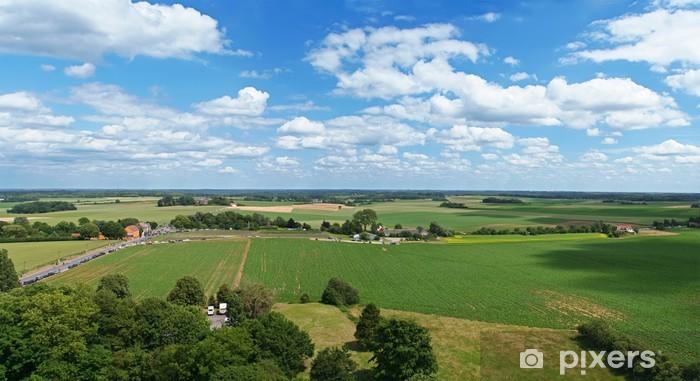 Fototapeta zmywalna Wioseczka w Waterloo w Belgii obszarze - Tematy