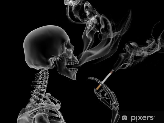 Smoking kills Pixerstick Sticker - Signs and Symbols