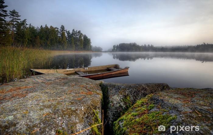 Pixerstick Aufkleber Boot - Jahreszeiten