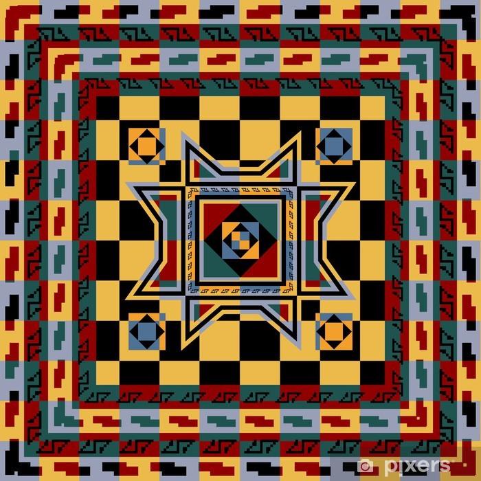Plakat Abstrakcyjne tapety etniczne - Abstrakcja